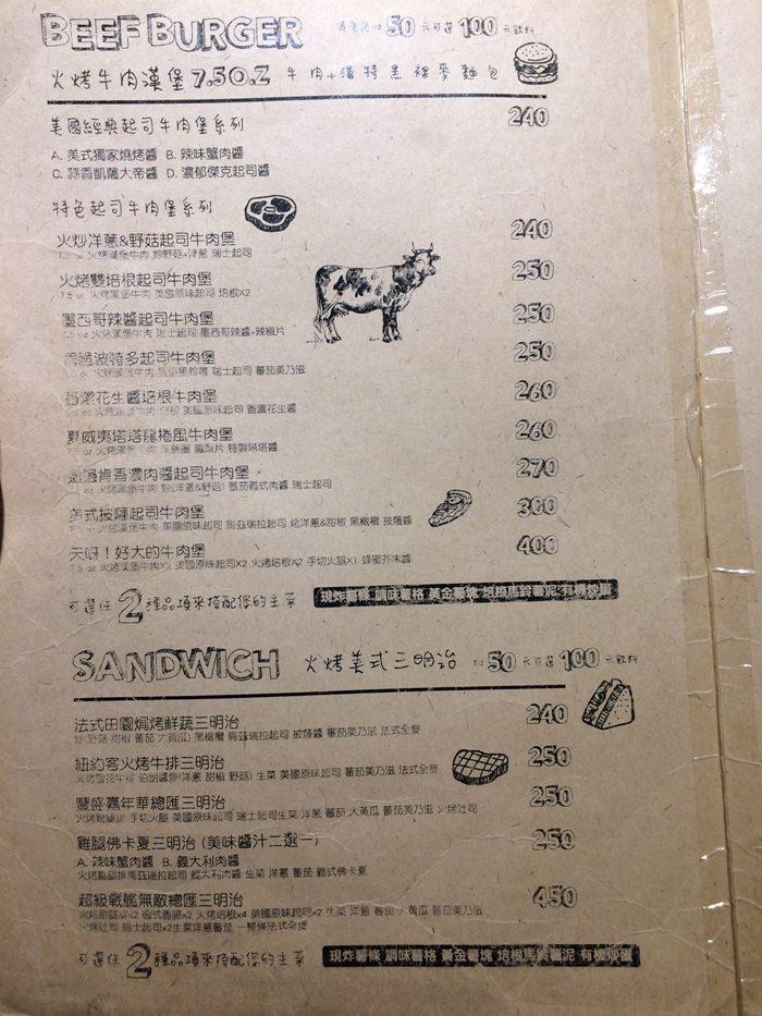 台北忠孝復興站美食 史丹貓美式餐廳Stan&Cat 店家與菜單資訊