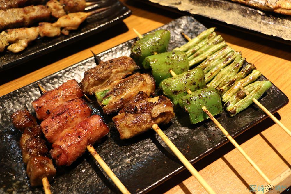 台北美食 柒串燒屋長安店 平價串燒這邊找 輔大也有分店
