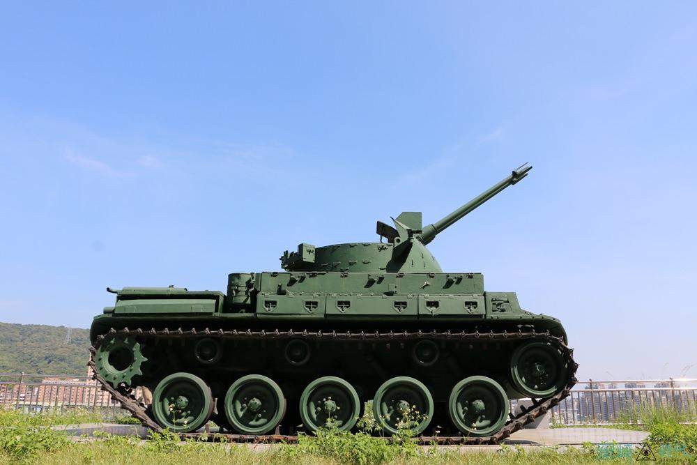 台北樹林景點 武器公園 台北最大軍用武器展示近距離接觸拍照好去處