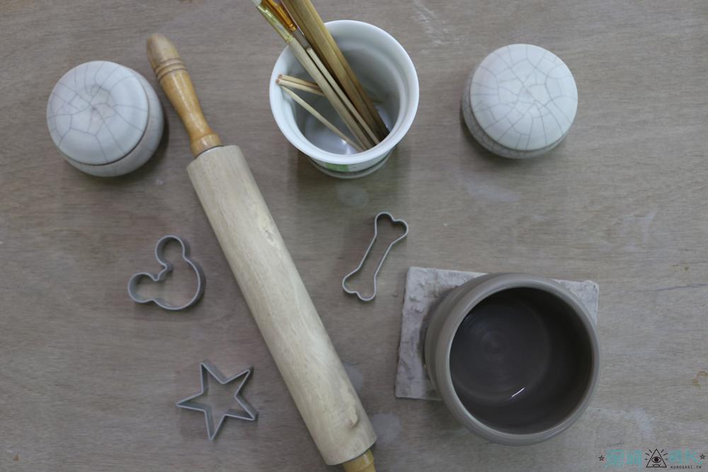 鶯歌老街 許新旺陶瓷紀念博物館DIY 手拉柸初體驗人生真的難