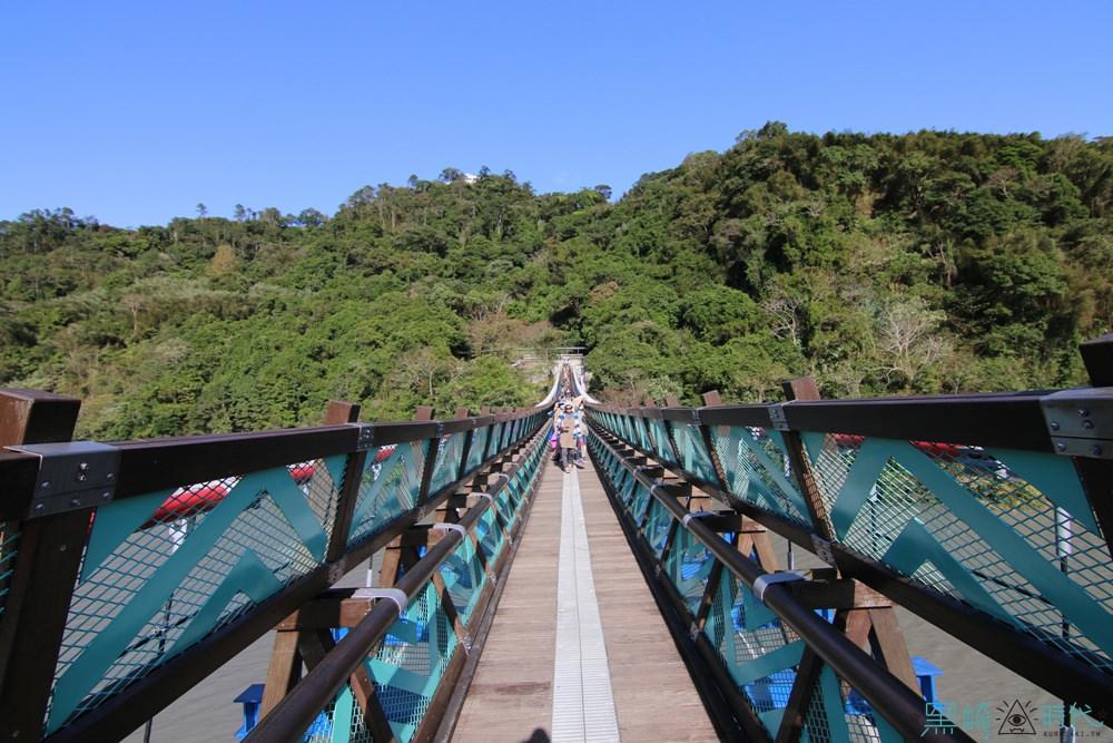 新溪口吊橋 桃園復興新景點 建議不要走吊橋體力不好請三思