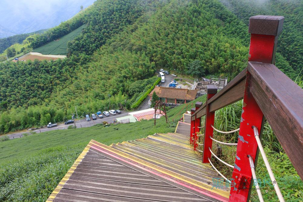嘉義梅山景點 二尖山步道 360度眺望雲林嘉義美景