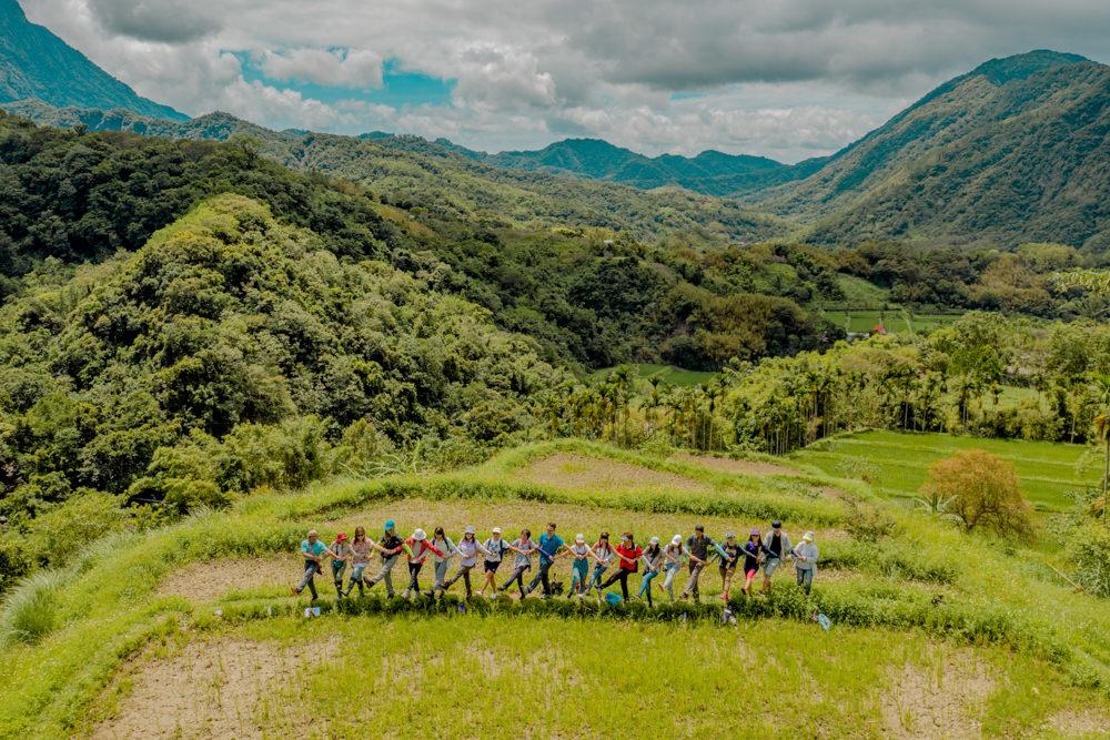 花蓮富里吉拉米代部落 天空梯田與百年水圳的日常