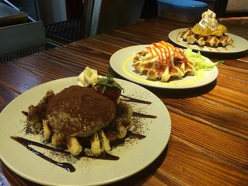 [美食] 台北大安 捷運科技大樓站 Waffle Please比利時鬆餅大安店 辦公室下午茶