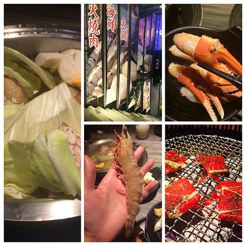 台北燒烤 好客燒烤市府店 聽音樂烤肉 高級帝王蟹 海鮮一應具全