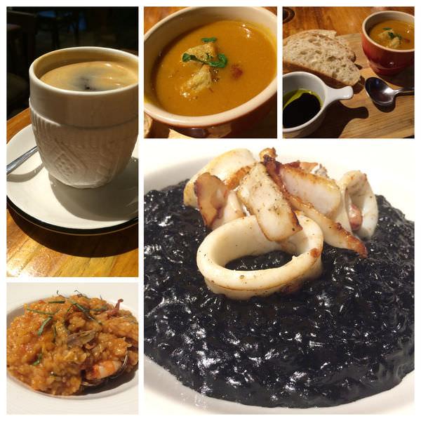 萬隆站美食 黑米Cafe-Bristo 一定要吃的墨魚燉飯 入味有勁香濃可口
