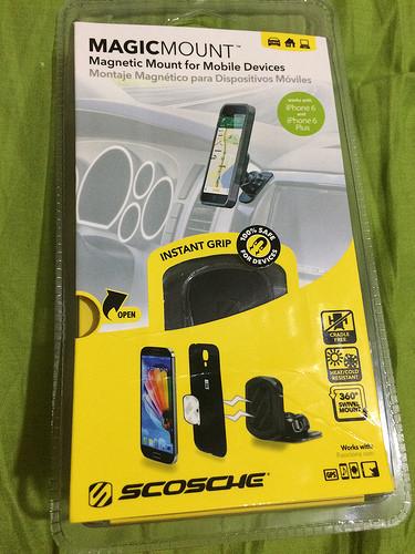 [3C] MagicMount 磁鐵式手機架 無論是在開車、辦公室、家庭都能輕鬆放著手機