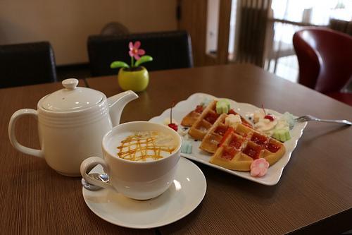 台北萬華咖啡廳 得意咖啡東園店 喝咖啡甜點休閒好去處 萬華區咖啡