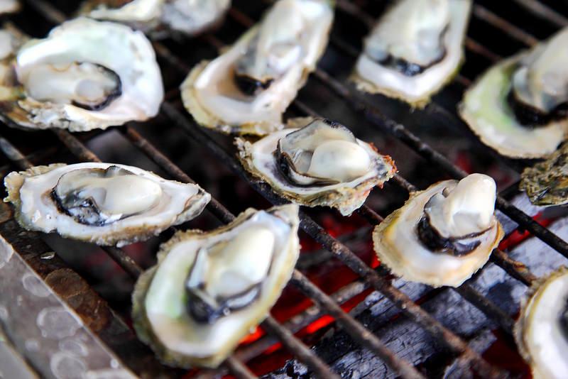 澎湖馬公]烤牡蠣,海鮮粥無限吃到飽!還能享受海上博大魚的快感~星光 ...