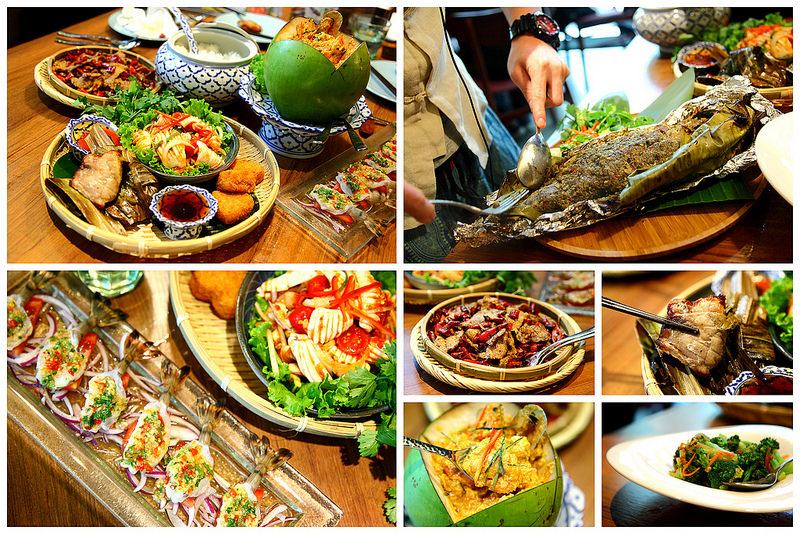 [台北信義]時尚泰式料理美學,台北泰式料理首選~Thai Bazaa泰集微風信義
