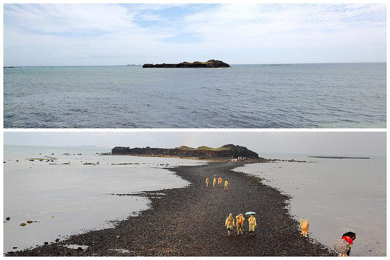 [澎湖湖西]見證大自然的鬼斧神工,令人驚豔的摩西分海奇景~澎湖地質公園-奎壁山