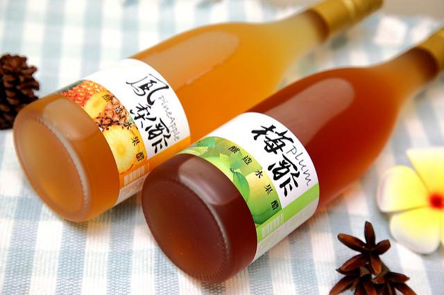 """[嘉義民雄]喝好醋有""""好處""""~上村酒廠釀造水果醋(鳳梨&梅醋)"""