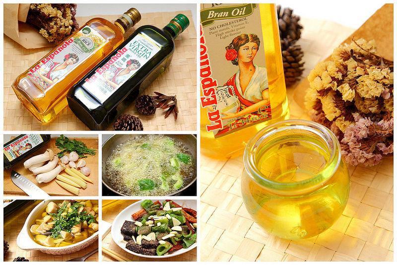 [料理小廚] 選好油比少用油重要!選對一瓶油連菜冷掉都好吃!萊瑞初榨冷壓特級100%純橄欖油&萊瑞100%原裝進口玄米油
