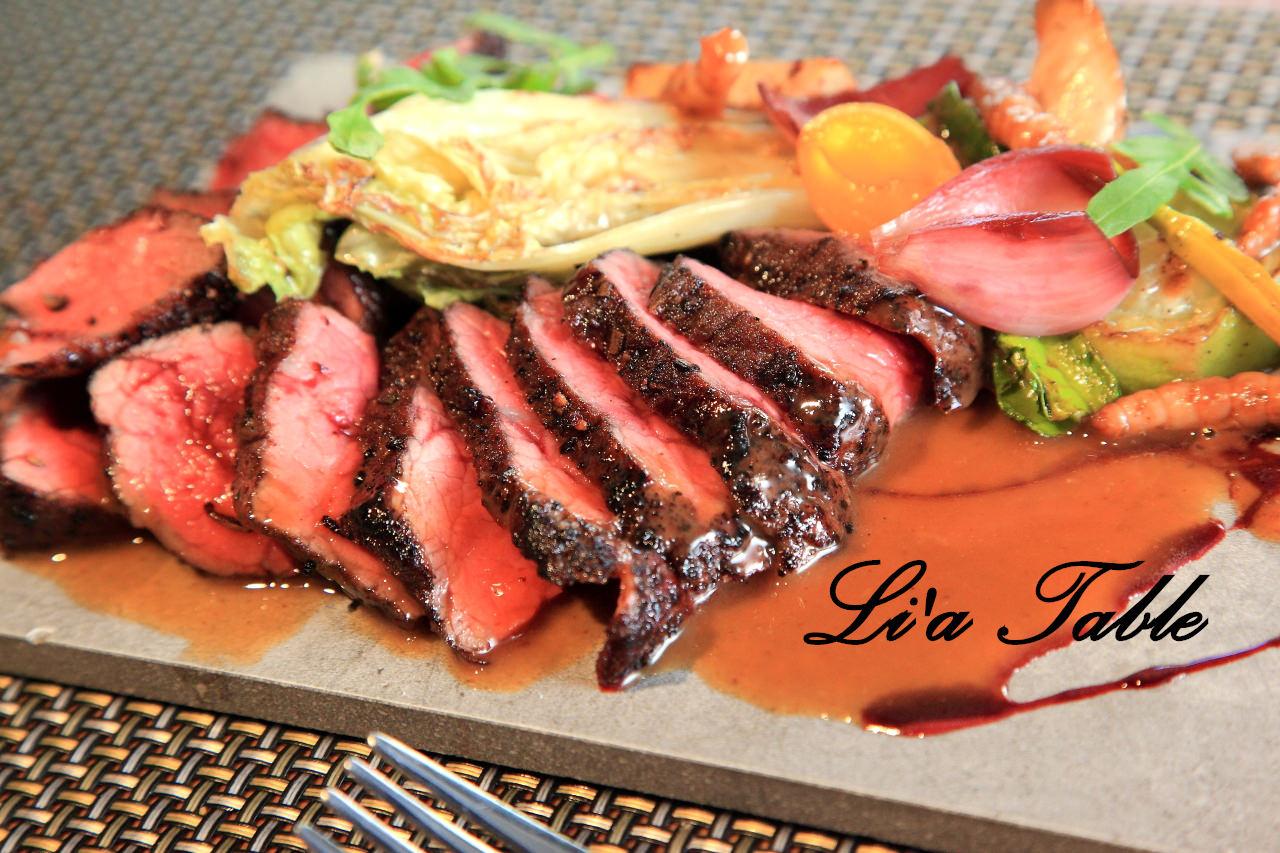 [台北松山]彷彿施魔法般的奇妙料理,視覺與味覺的奇幻饗宴!Li'a Table