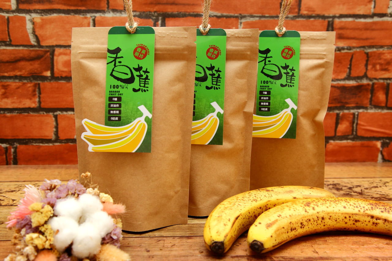 天然無糖果乾-香蕉脆片