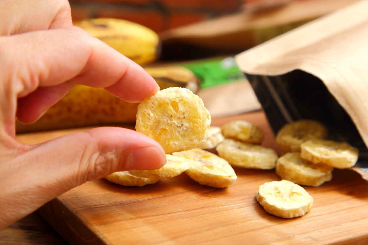 香脆可口-香蕉脆片推薦弘運吉食