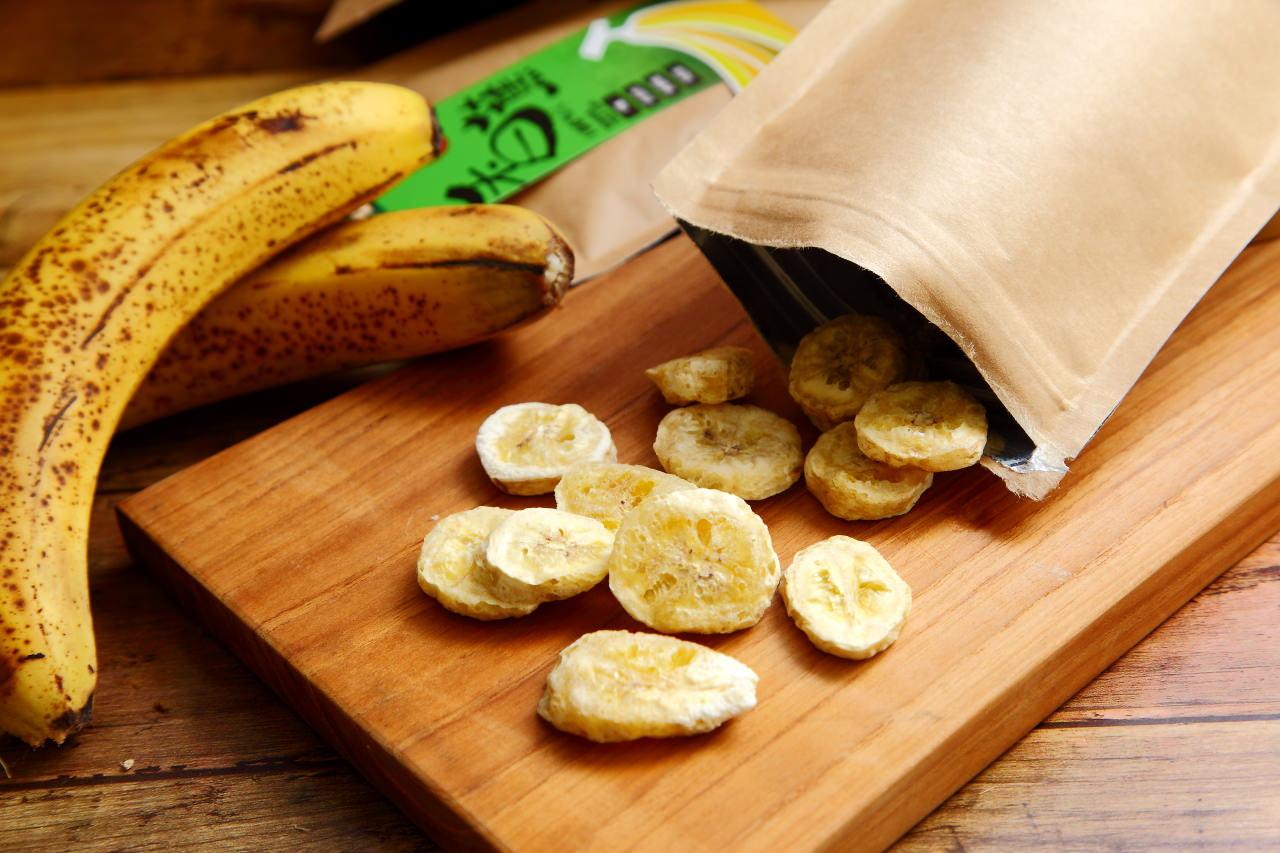 天然手工製成-香蕉脆片