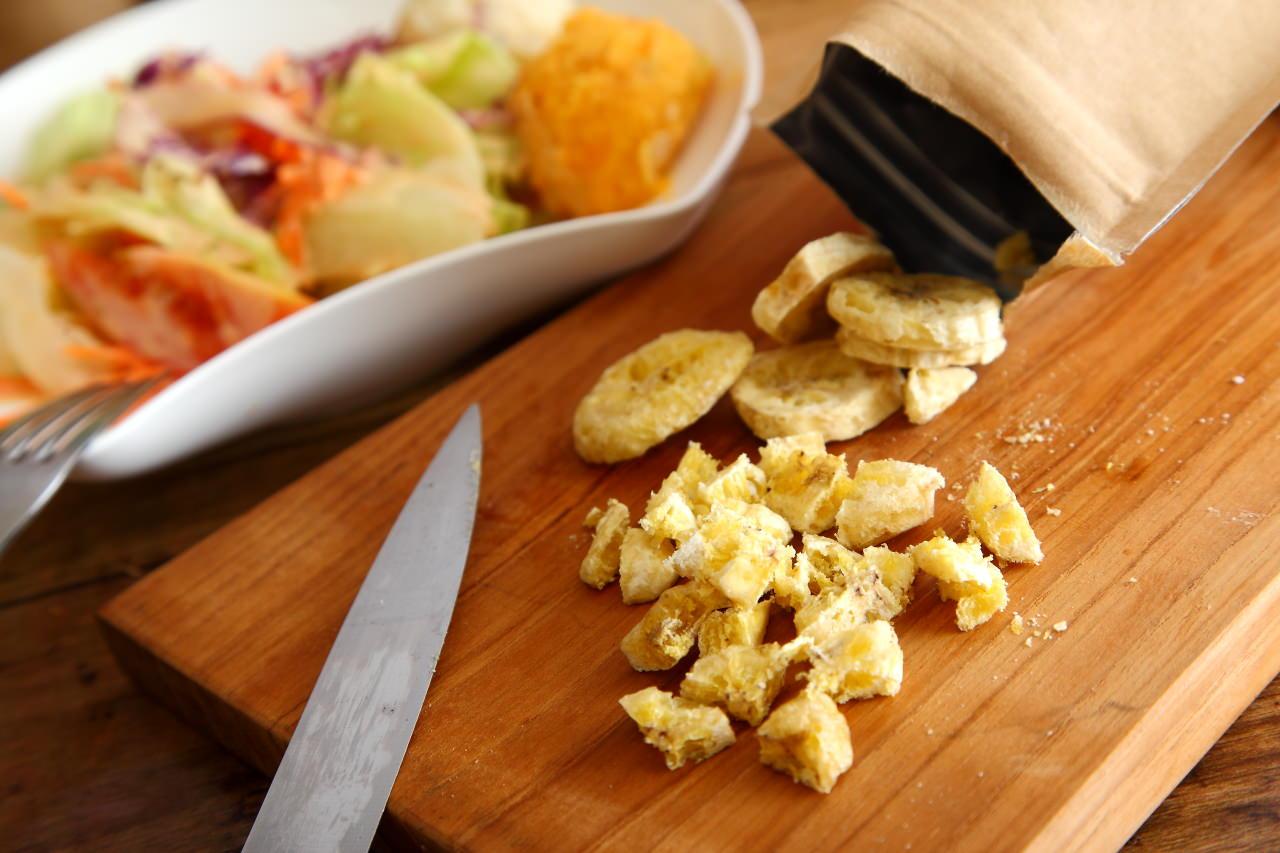 香蕉脆片沙拉-香蕉脆片弘運吉食
