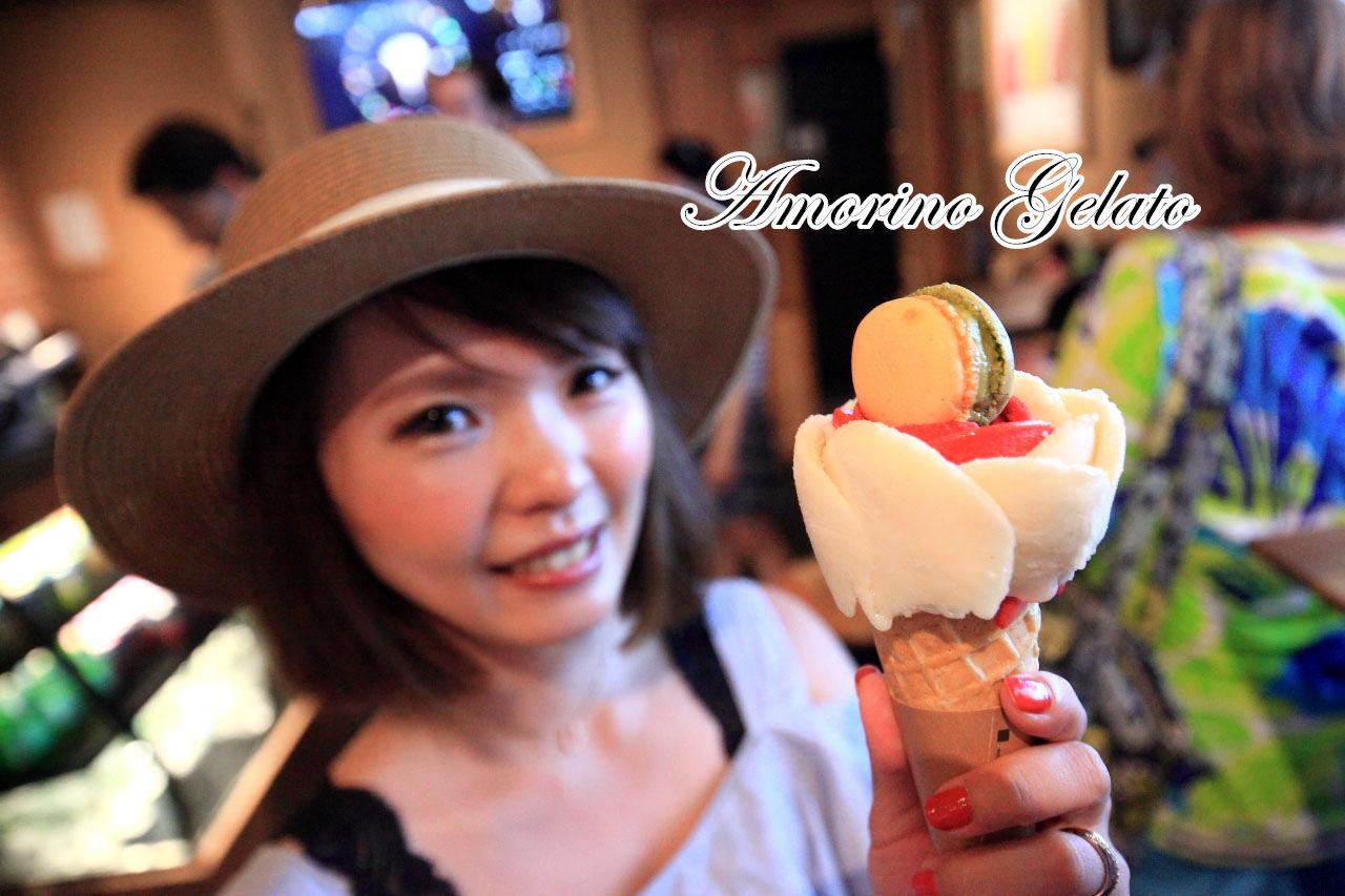 """[美國紐約]紐約超高""""顏值""""花朵冰淇淋,冰淇淋的愛馬仕!Amorino Gelato"""