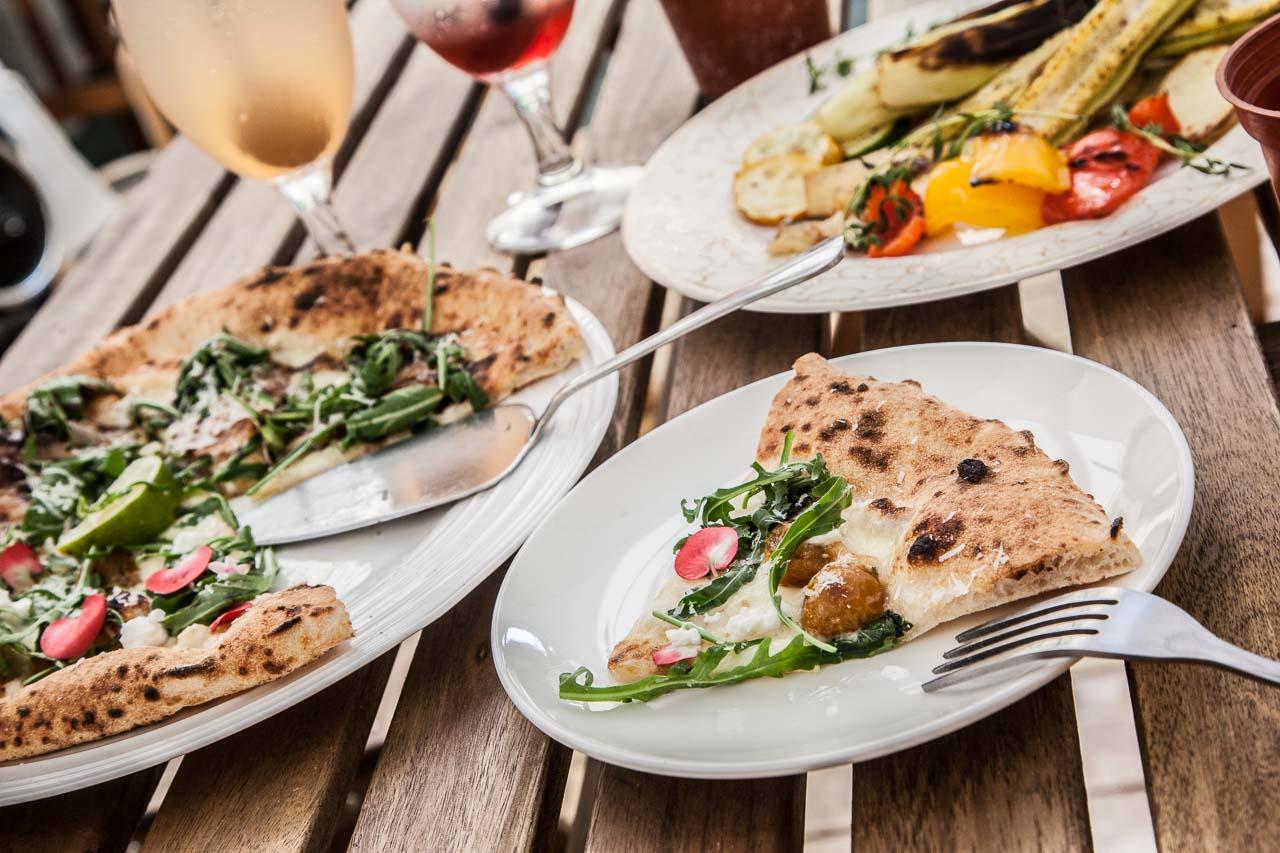 [新竹北區]新竹舊城小巷內的道地拿坡里披薩,媲美歐式莊園的浪漫後院!OYA PIZZA