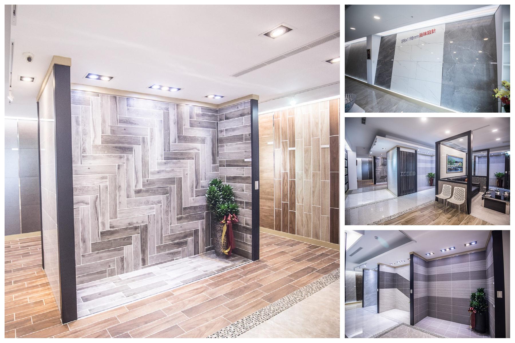 宛如磁磚博物館!集安全、設計、環保於一身的磁磚工藝品牌,創造磁磚應用的無限可能!三洋磁磚旗艦展示中心