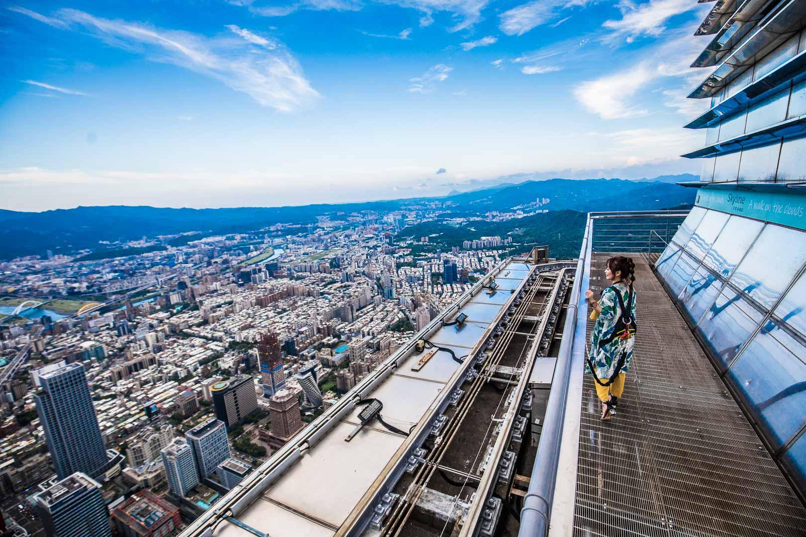 台北101 Skyline 460全攻略!來台北101觀景台玩一整天!Skyline 460/茶與果的高空對話/iPILOT飛行體驗