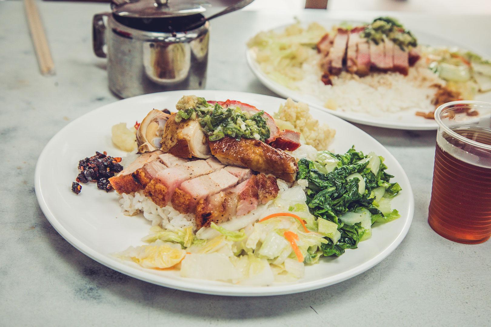 [新竹美食]香港大來燒臘店/新竹燒臘便當推薦,在地排隊人氣燒臘便當店