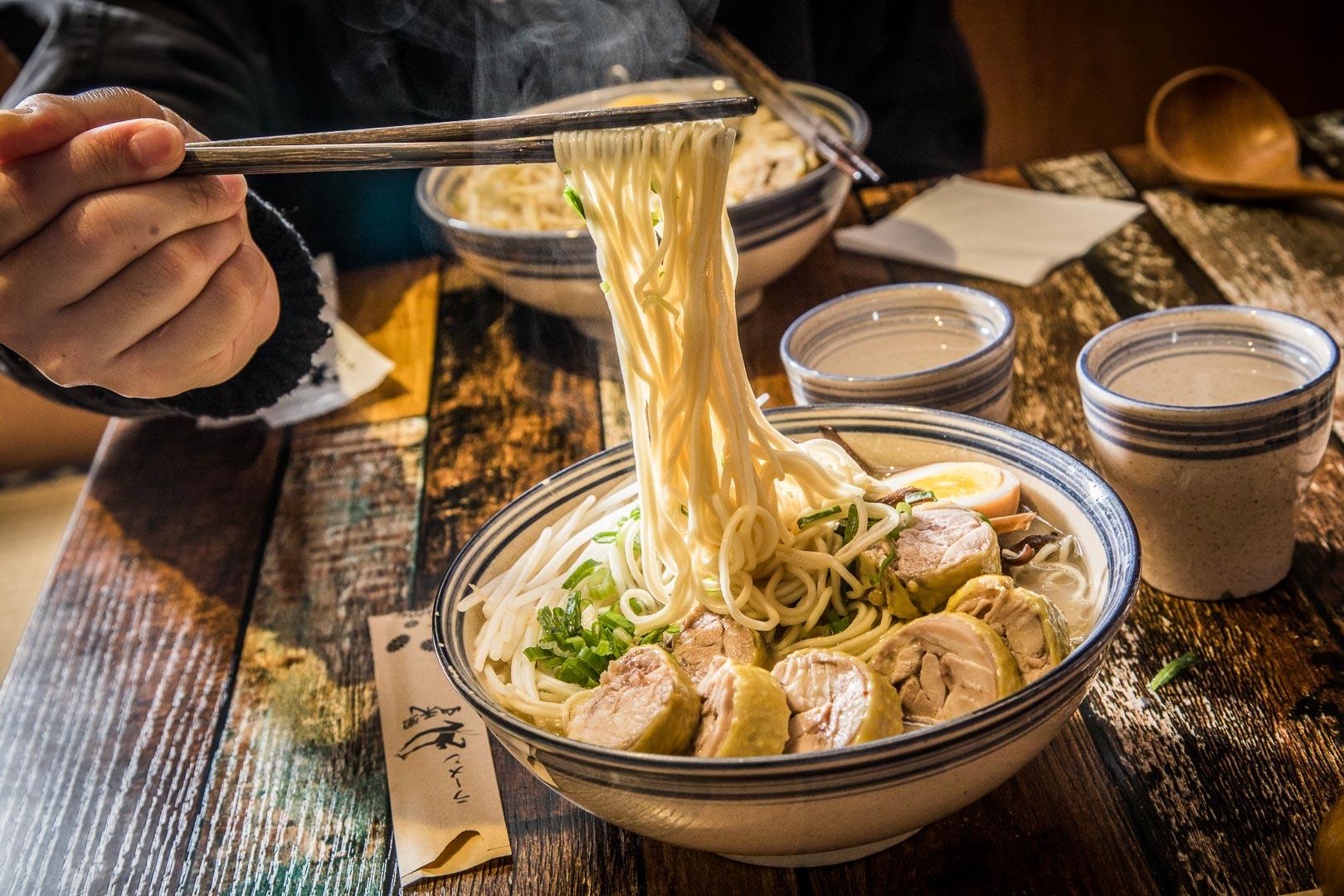 [中壢美食]雞白湯、柚子塩拉麵,吃不飽還可加麵兩次!山禾堂-中壢店