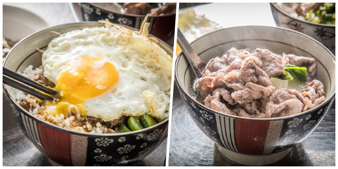 [台北美食]老牛牛肉肉燥飯/台北最強悍牛肉肉燥飯,三不五時就被客人清空飯鍋的絕妙好滋味!