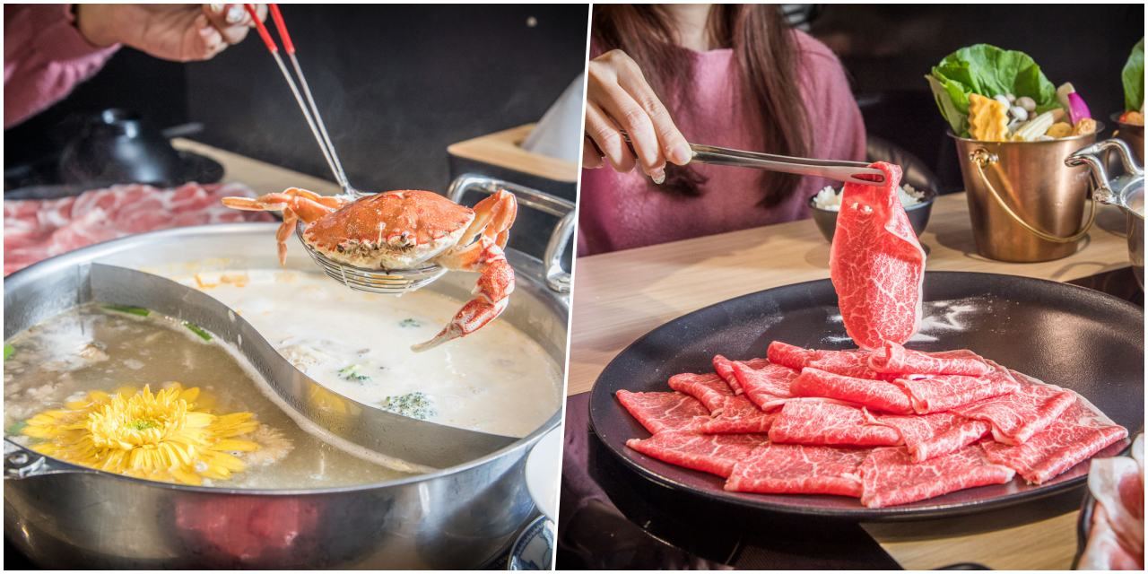 [台北美食]東雛菊-風味鍋物/獨門湯底有夠強!料都還沒涮光喝湯就很爽!