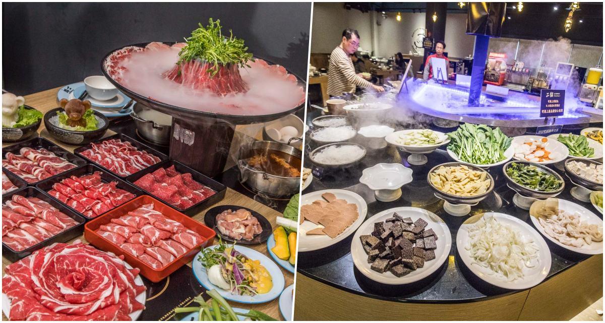 [桃園美食]鬥牛士二鍋-桃園食尚店/壽喜燒超過100種食材全部吃到飽,最便宜一個人竟然只要328元!