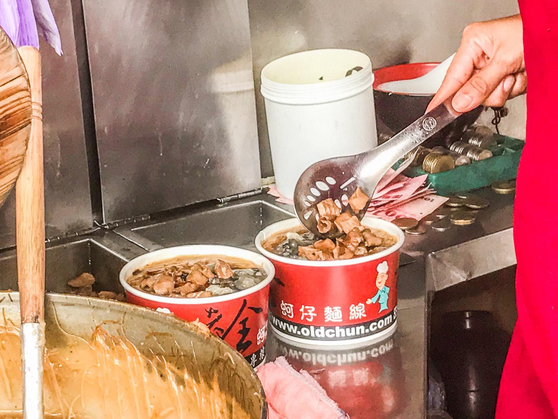 [桃園美食]老全麵線-大園總店/在地老饕才知道的神級麵線老店!乾滷大腸、超大鮮蚵有夠鮮!