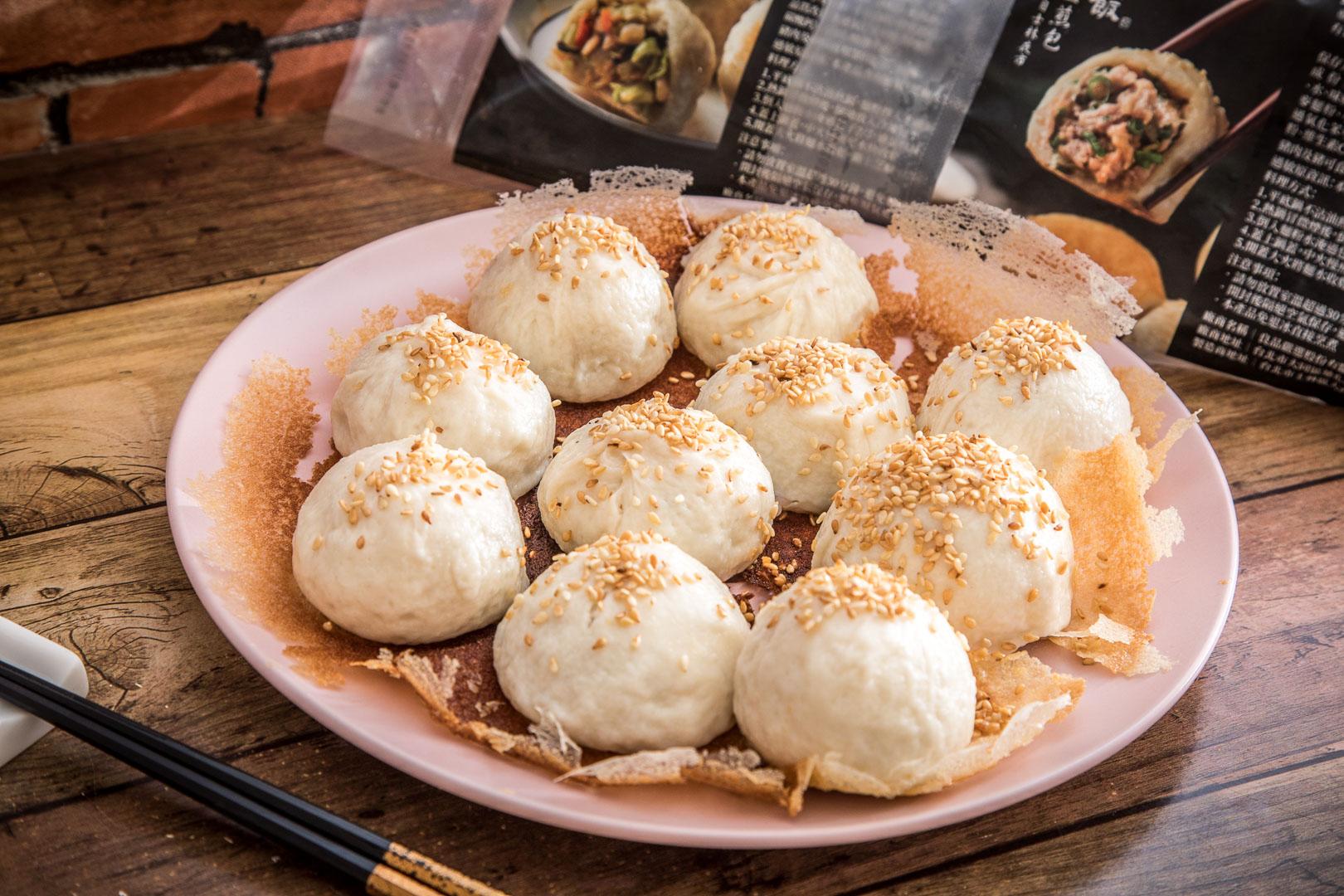 不是我有天份,是上海生煎包真的太容易做了,零廚藝!在家完全複製上海生煎包失敗率等於0!良品開飯-上海生煎包