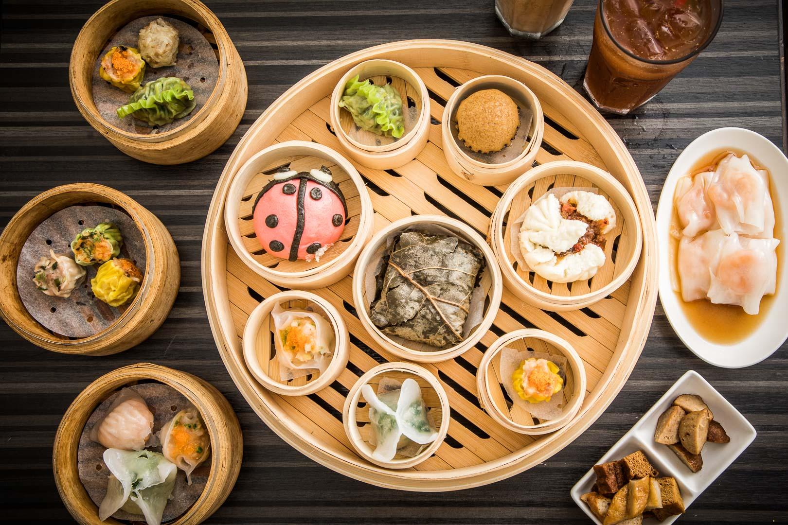 中和美食 》胖包子港式飲茶|中和平價港點推薦,浮誇大蒸籠雙人套餐還附飲料!