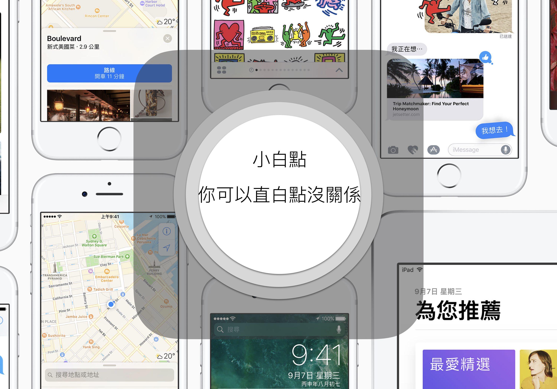 如果你那麼喜歡按 iPhone 小白點,那就更應該讓它直覺化一些