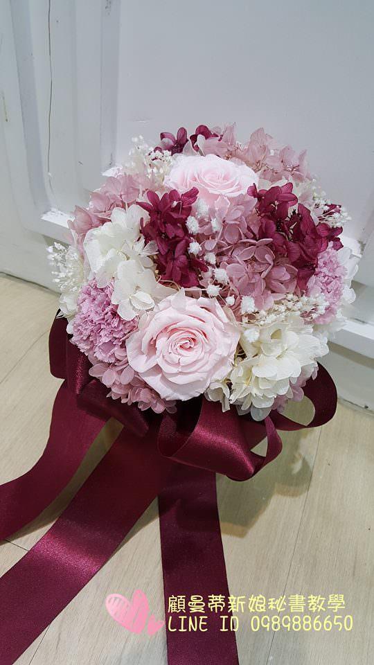 日本不凋花~新娘捧花