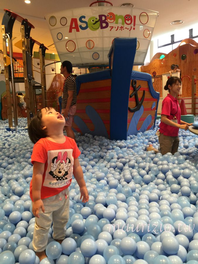 [東京] 巨蛋旁親子必玩景點 – Asobono兒童室內遊樂園