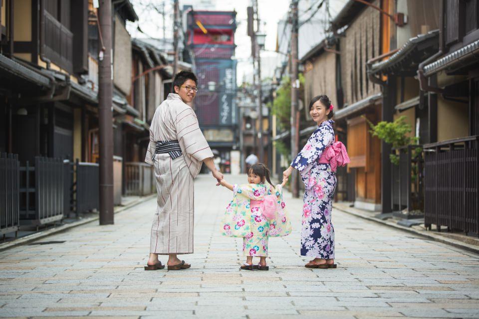 [京都] 夢館 親子浴衣外拍分享 – 祗園、白梅料理旅館、八阪神社