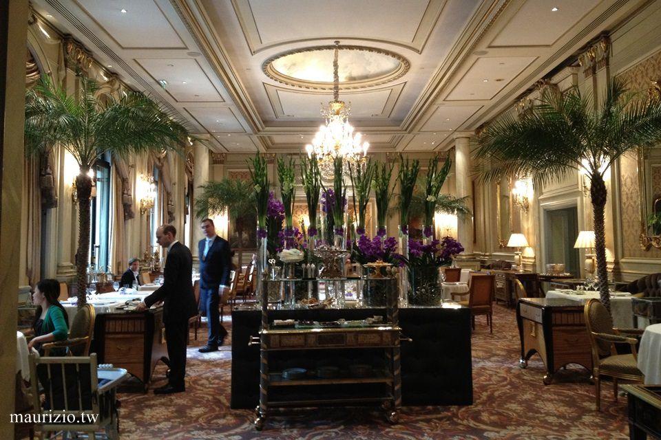 [巴黎] 米其林三星 Le Cinq – 四季酒店 Four seasons Paris 華麗的午間饗宴
