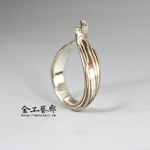木目金❜指輪⑨