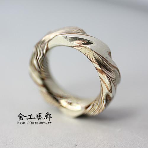 木目金❜指輪⑥