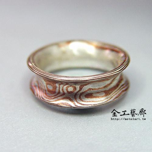 木目金❜指輪⑤