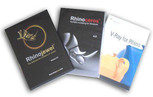 Rhinoceros Rhinojewel V-Ray for Rhino正版軟體拷貝