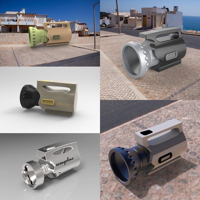 3D電腦繪圖─產品設計欣賞