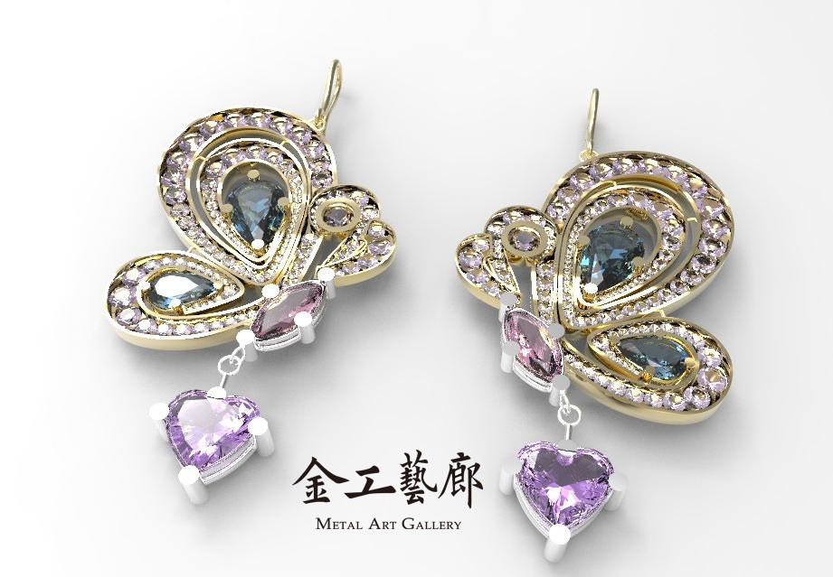 3D珠寶設計課程─密集進階班開課