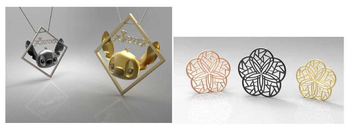 3D珠寶設計作品欣賞