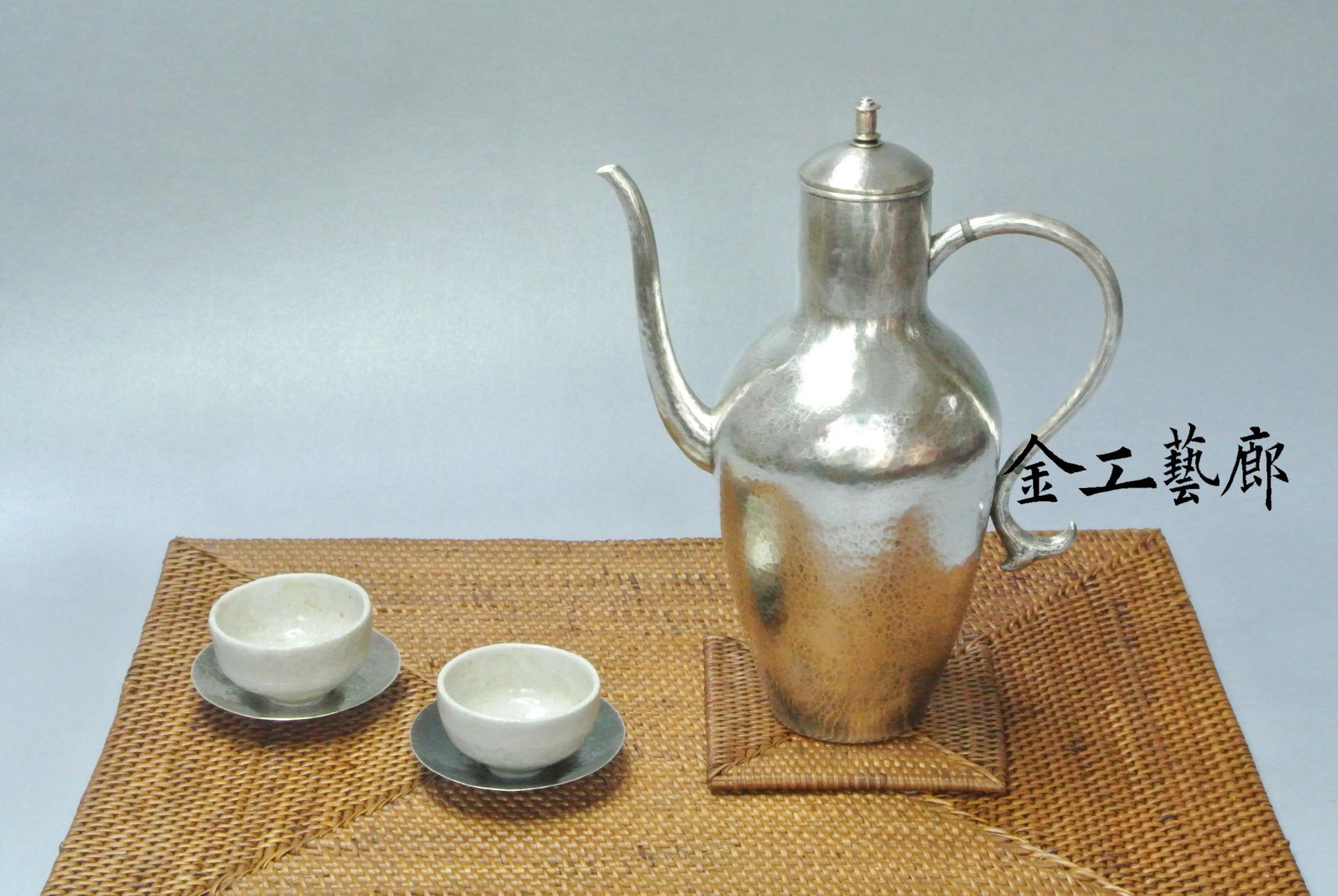 重現宋朝文人雅緻之古制造型銀壺欣賞