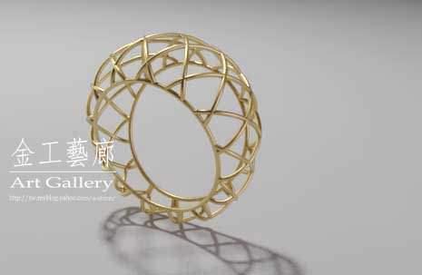 巧明的3D電腦珠寶設計習作