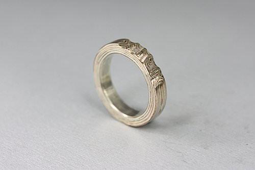 木目金指輪