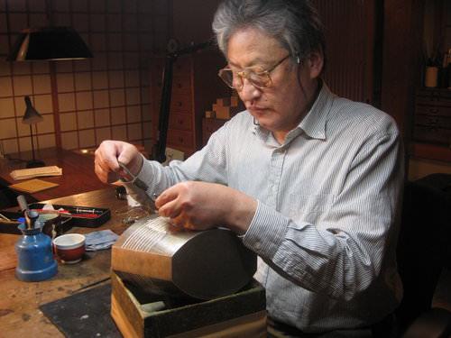 日本人間國寶─中川衛金工創作展講座